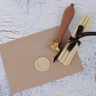Cream colored sealing wax